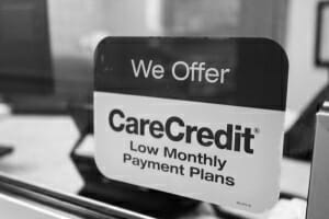 We offer carecredit